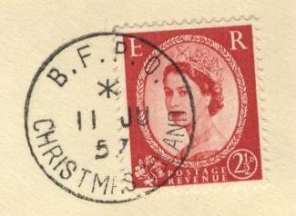 BFPO-stamp-on-post