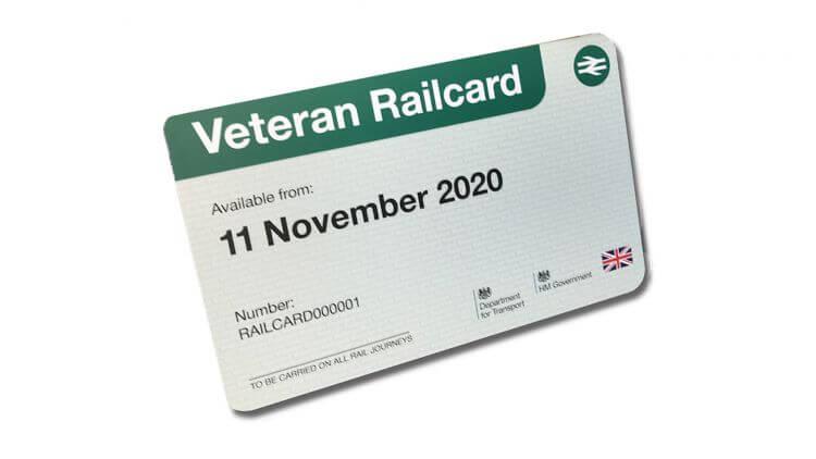 Veterans Rail Card